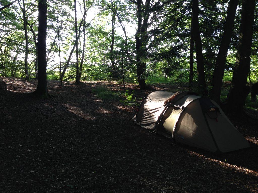 Overnatning i telt vaerude.dk