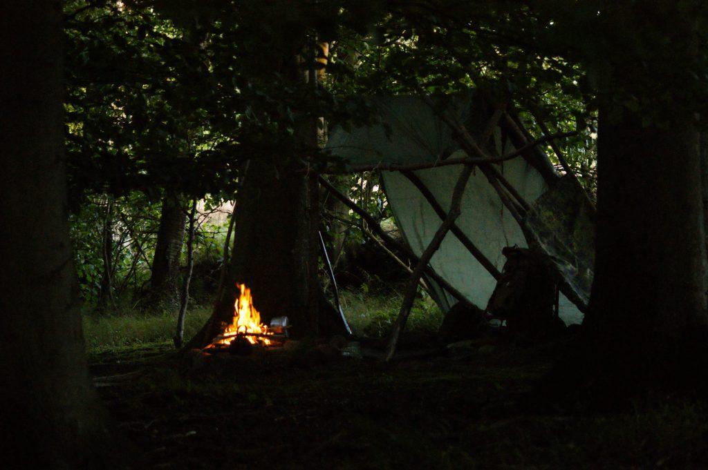 hvordan bygger man et shelter vaerude.dk