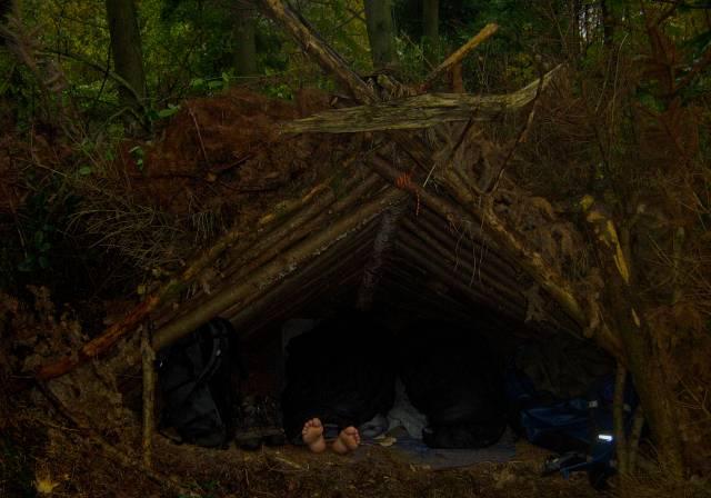 Aframe Shelter af værude.dk
