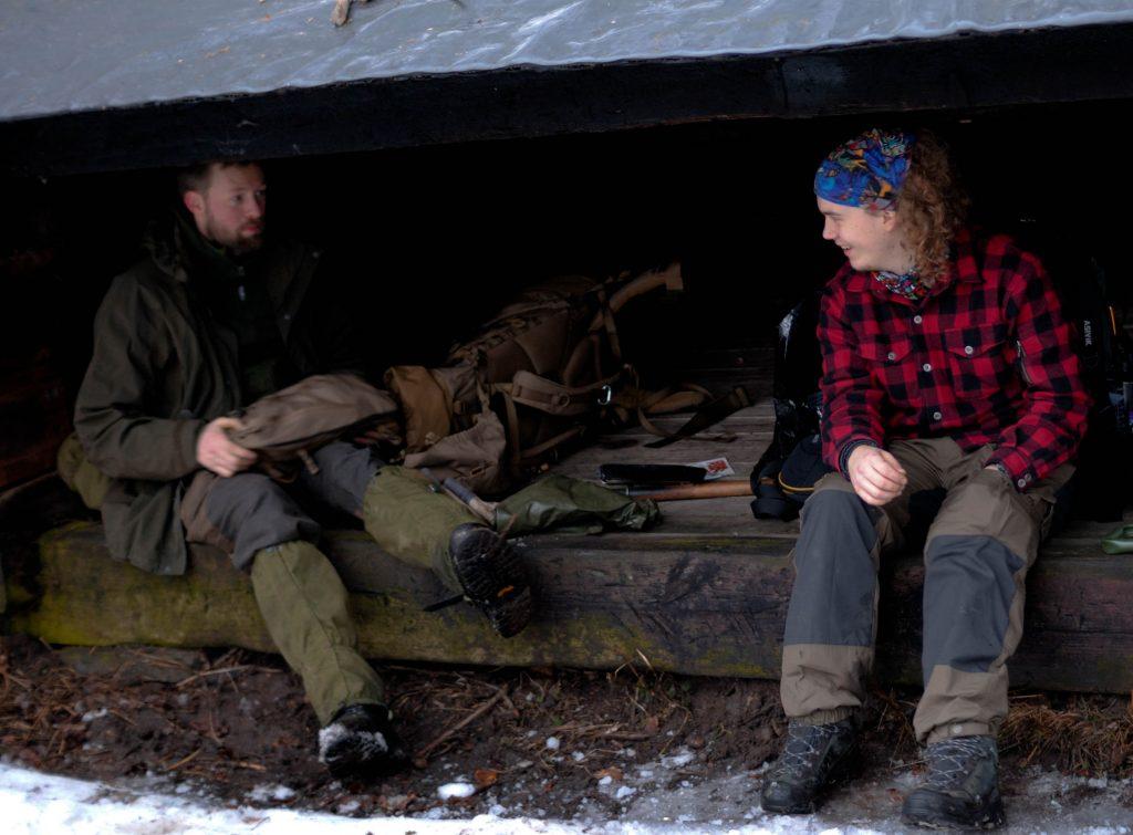 Overnatning i shelter - vaerude.dk