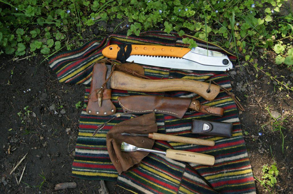 Friluftsliv, værktøj og håndværk på tur