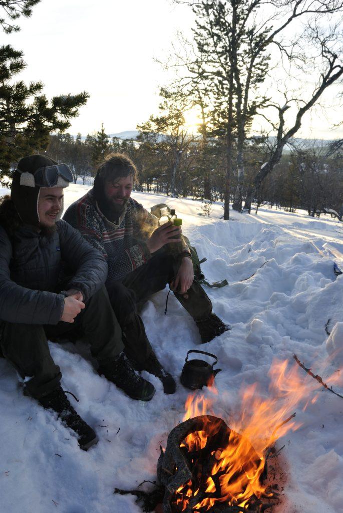 Koggekaffe i Rondane nationalpark i Norge