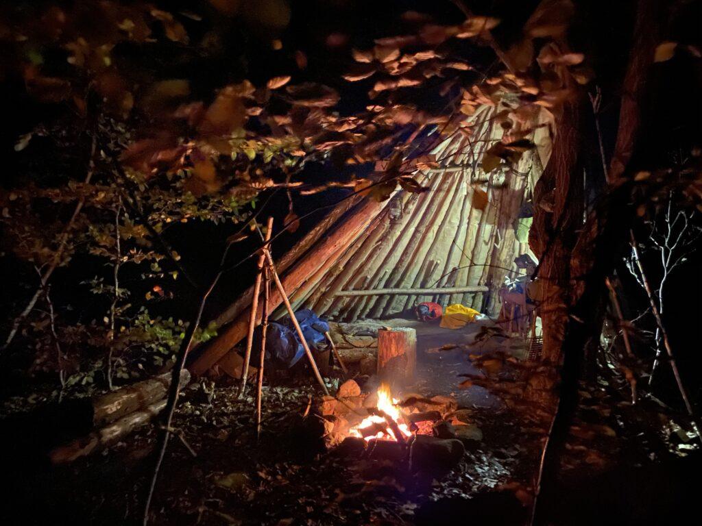 Inspiration til friluftliv, bushcraft, håndværk og historie