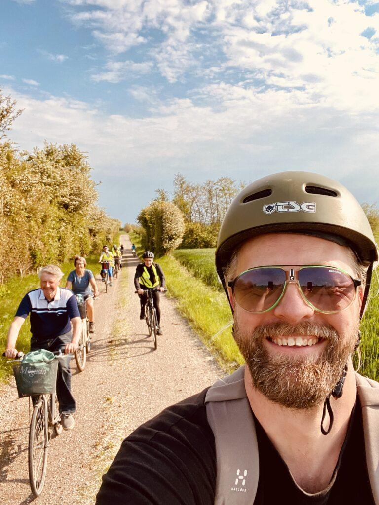 Guidede cykelture på Nordfyn med lokal guide og naturvejleder